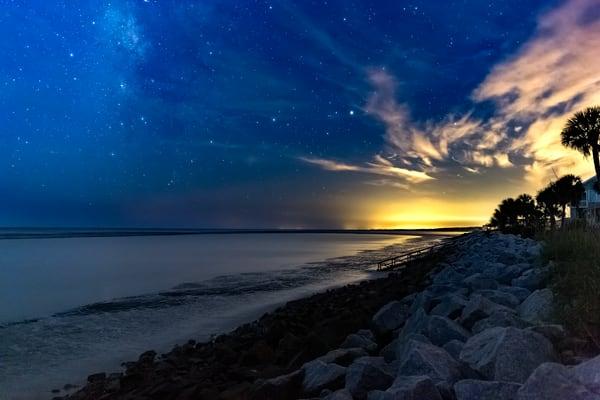 Fripp Island Under The Stars Photography Art | Phil Heim Photography