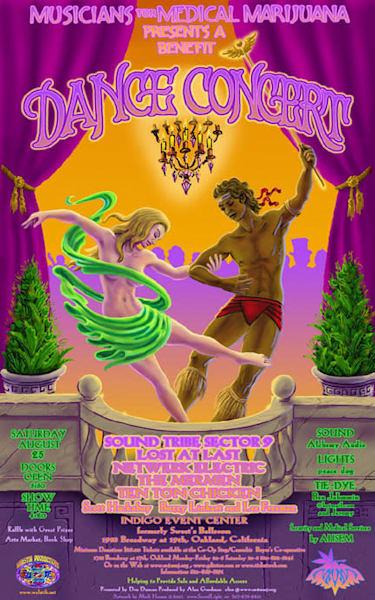 Sweets Ballroom Musicians for Medical Marijuana