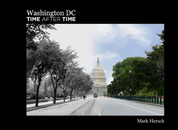 Washington DC Time After Time Book
