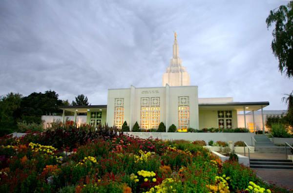 Idaho Falls Temple - Grounds