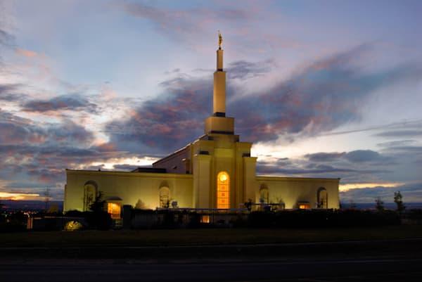 Albuquerque Temple - Dusky Sky