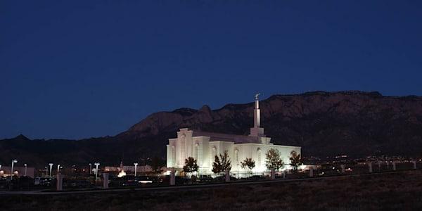 Albuquerque Temple - Panoramic Mountains