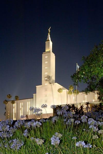 Los Angeles Temple - Night