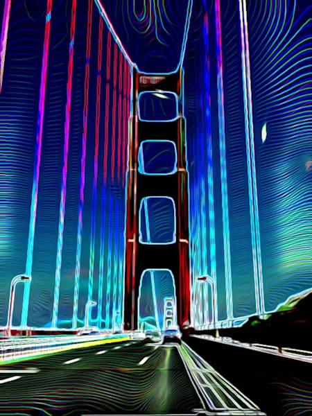 The Golden Gate Art | BBrom ART