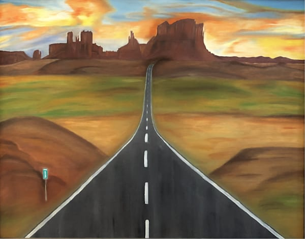 Road To Monument Valley Art | BBrom ART