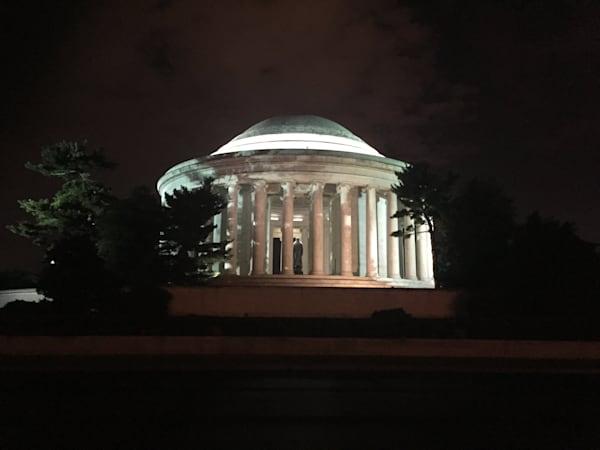 Jefferson Memorial Art | BBrom ART