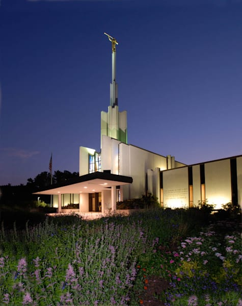 Atlanta Temple - Greenery