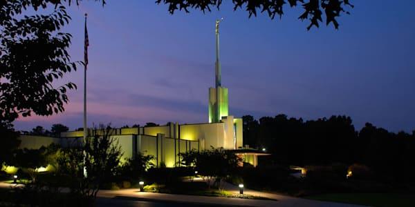 Atlanta Temple - In the Trees