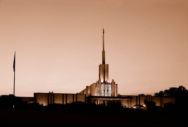 Atlanta Temple - Sepia
