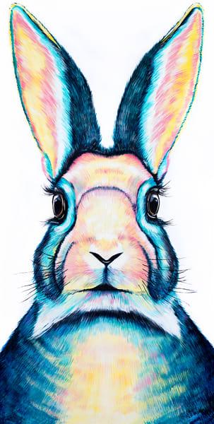 Alice in wonderland Rabbit Print