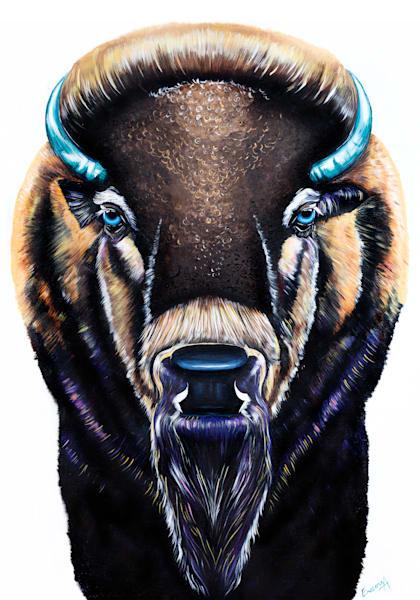 Bison Art | Ekaterina Sky