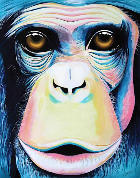 Chimpanzee Print from Animalize