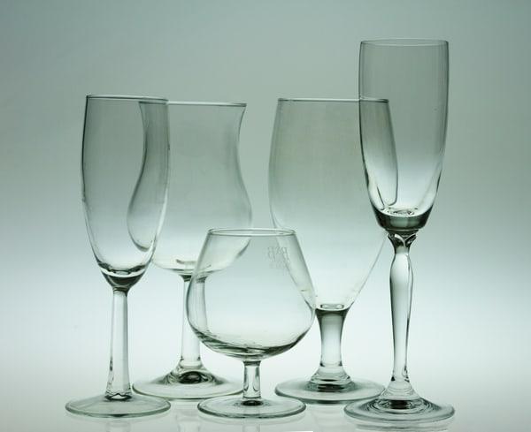 A Fine Art Photograph of Wine Glasses by Michael Pucciarelli