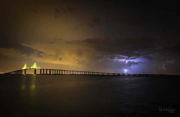 Sunshine Skyway Stormscape