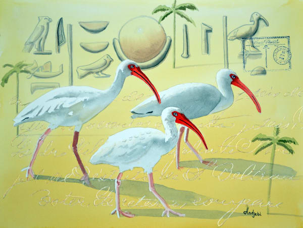 Wandering Spirits - Toth - Three Ibis