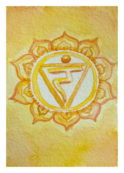 Manipura Card 5x7 Art | HFA print gallery