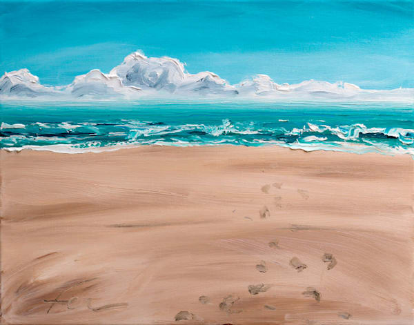 Isle of Palms Painting | Fer Caggiano Art