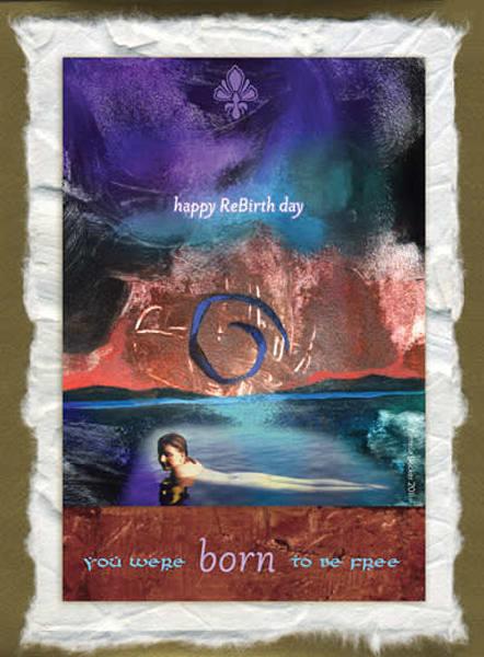 Cc11. Happy Re Birth Day | Big Vision Art + Design