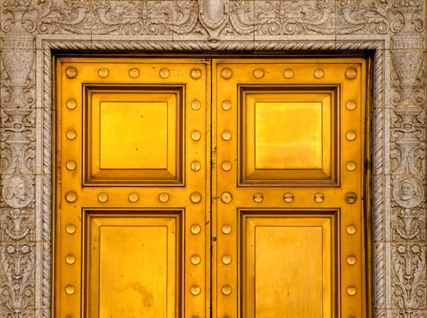 Gilded Doors | El Paso Art Photography
