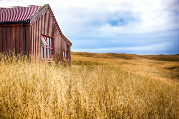Barn And Field | Nature Art Photography