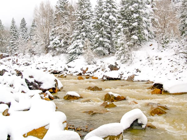 SNOW IN OURAY