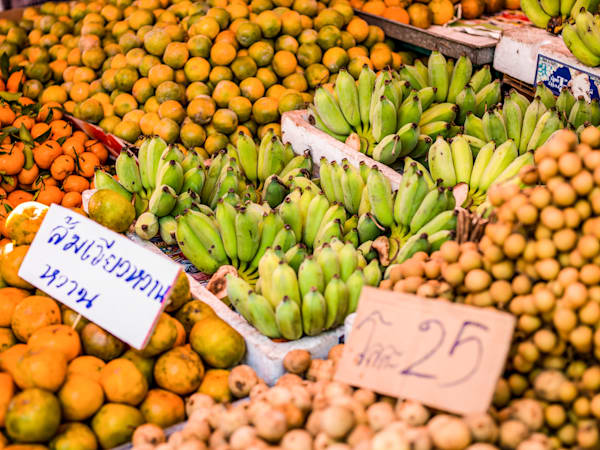 Thai Market | Nature Art Photography