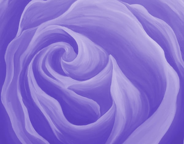 Light Purple Rose Art | Art By Dana