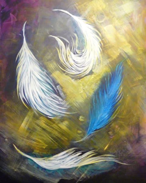 Feathers Art | Art By Dana