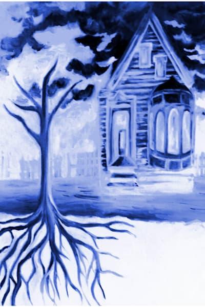 Blue Secrets  Art | Art By Dana