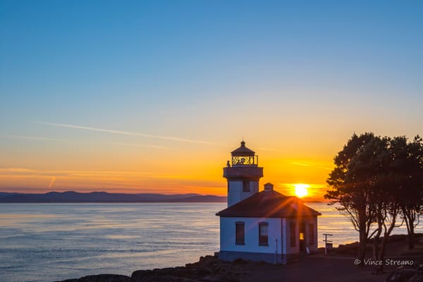 Fine art prints of Lime Kiln State Park lighthouse