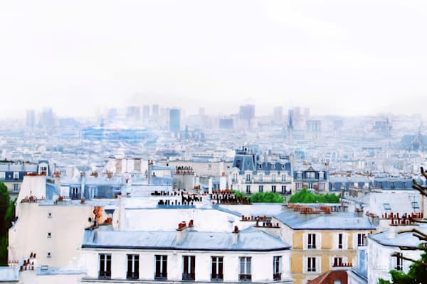 Photograph of  Montmartre Rooftops in Paris