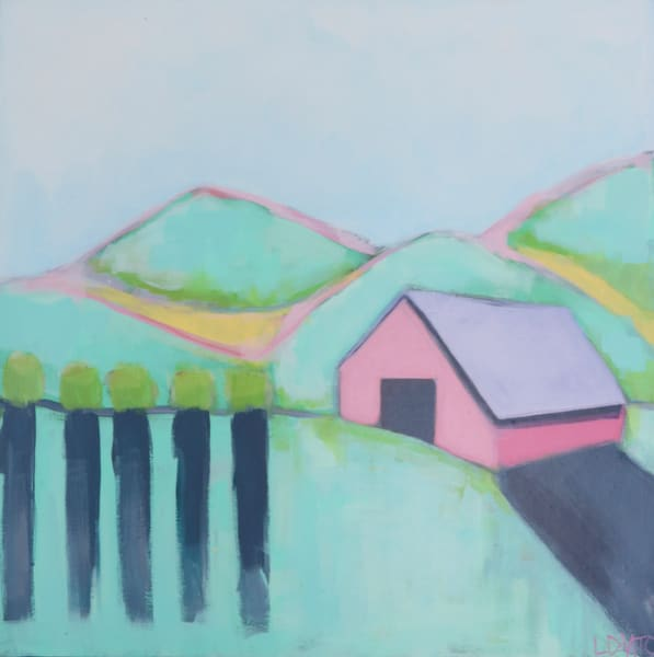 NEW!!! PINK BARN II - 18 X 18 - $100