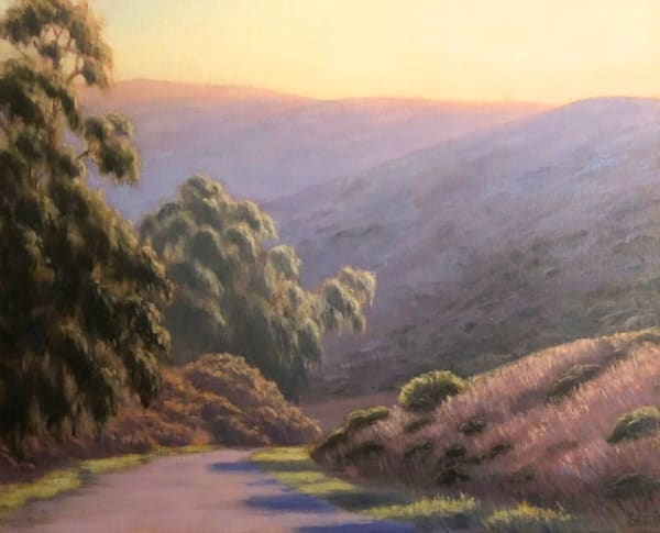 Tennessee Valley Hike captured in oils