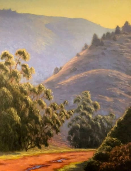 Marin County oil painting