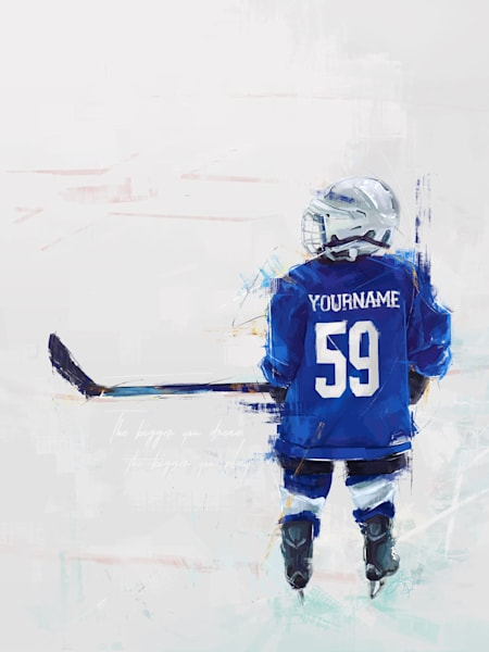 Big Dreamer - Hockey Player