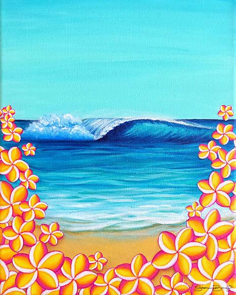Hawaii Art | Serene Hawaii by Stephanie Boinay