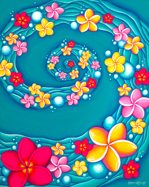 Hawaii Art | Ocean Summer Breeze by Stephanie Boinay