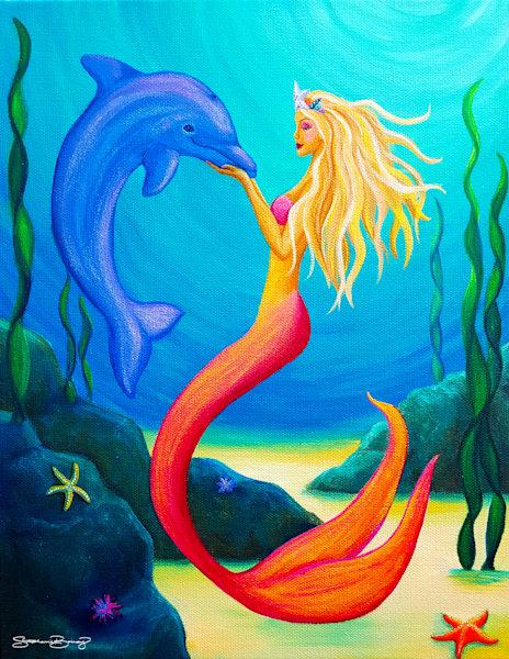 Hawaii Art | Sea Queen by Stephanie Boinay
