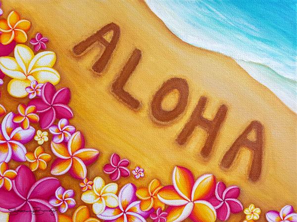 Hawaii Art | Aloha Shores by Stephanie Boinay