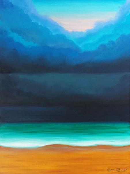 Hawaii Art | Stormy by Stephanie Boinay