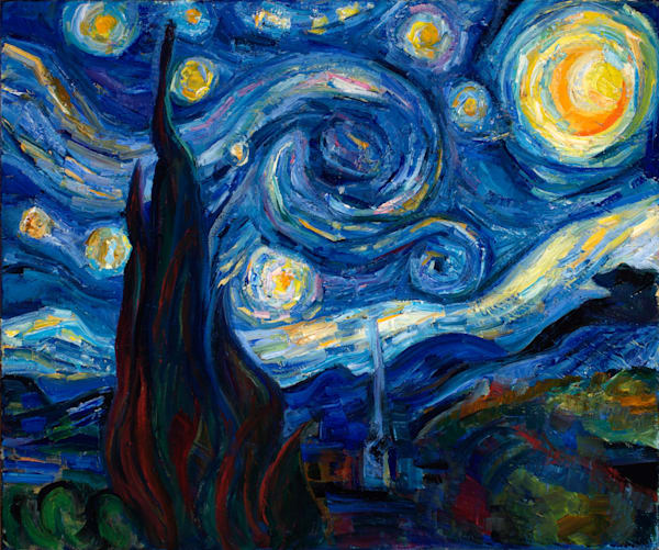 """Oh the losses in All, Marina, the falling stars!"" (A study of van Gogh's ""Starry Night"")"