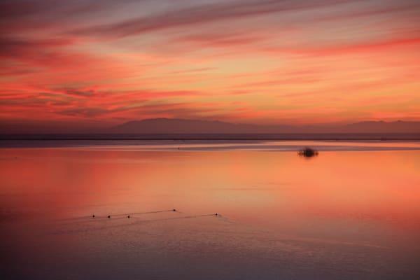 """Red Sky Sunset"""
