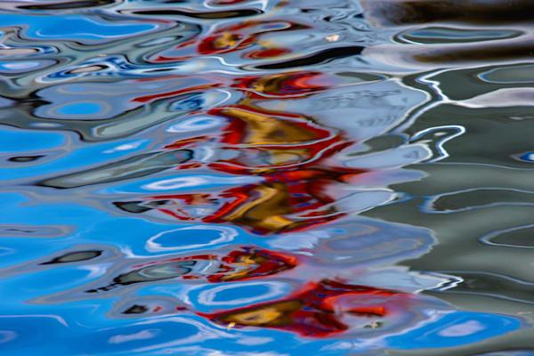 Aqua Abstract - No.3