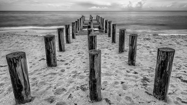 Beach Pilings - No.3