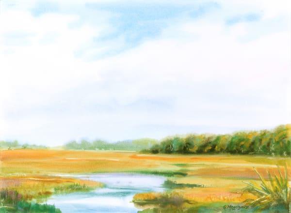 Talbot Inlet View | Watercolor Landscapes | Gordon Meggison IV