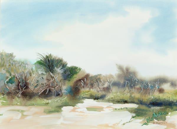 Matanzas Dunes | Watercolor Landscapes | Gordon Meggison IV