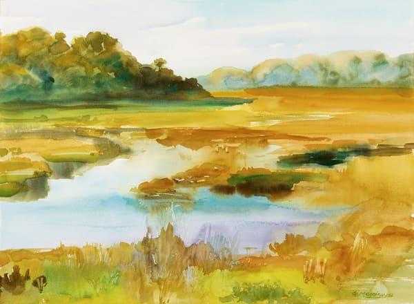 Talbot Marsh | Watercolor Landscapes | Gordon Meggison IV