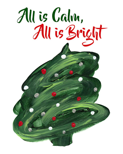 Christmas Tree - All is Calm