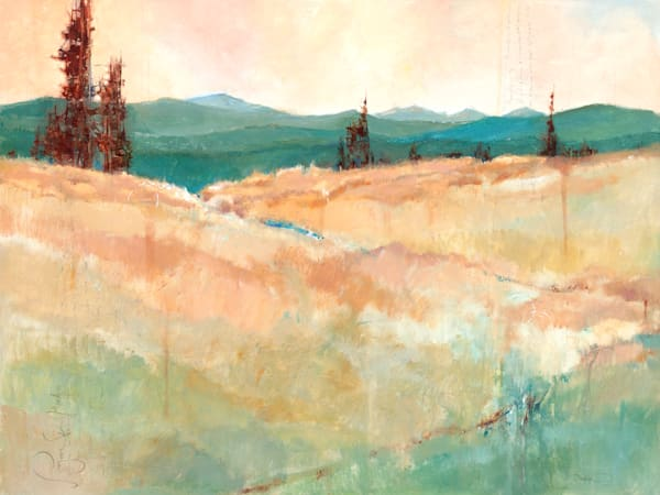 Layered Simplicity, original and limited edition art and paintings by pacific northwest artist Sarah B Hansen