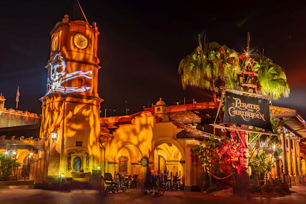 Pirates of the Caribbean Halloween - Disney Photos